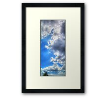 ©HCS Clouds Like A Wall Framed Print