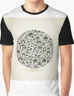 House a sphere Graphic T-Shirt