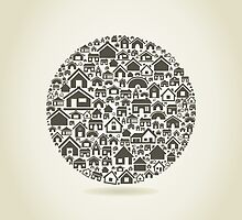 House a sphere by Aleksander1