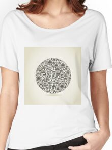 House a sphere Women's Relaxed Fit T-Shirt