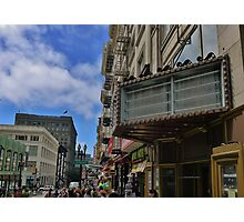No Marquee Photographic Print
