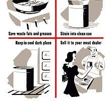 Save Waste Fats  by warishellstore