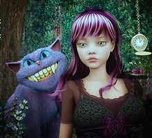Wonderland Alice by JMP-Graphics