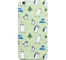 bears and penguins iPhone Case/Skin