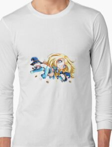Sorceress Lux & her Poros Long Sleeve T-Shirt