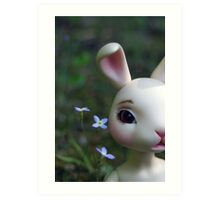 Ball Jointed Doll- Rabbit Art Print