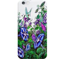 hummingbird jungle iPhone Case/Skin