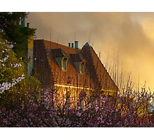 Golden Moments Pacific Heights Photographic Print
