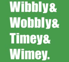 Wibbly Wobbly Ampersand One Piece - Short Sleeve
