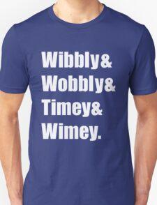 Wibbly Wobbly Ampersand Unisex T-Shirt