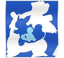 Pokemon - Squritle/Wartortle/Blastoise Poster