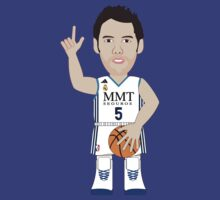 NBAToon of Rudy Fernandez, player of Real Madrid by D4RK0