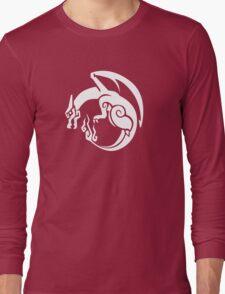 Pocket Monster Hunter Red Long Sleeve T-Shirt