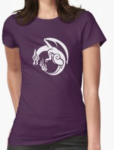 Pocket Monster Hunter Red Womens Fitted T-Shirt