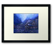 Once Upon A Barn Framed Print