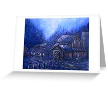 Once Upon A Barn Greeting Card