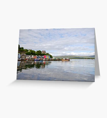 Tobermory,Isle of Mull Greeting Card