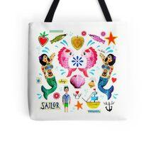 Kitsch Ocean  Tote Bag