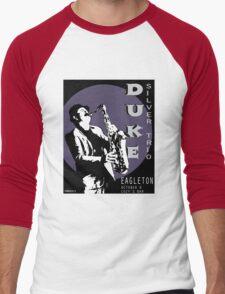 Duke Silver Live In Concert  Men's Baseball ¾ T-Shirt