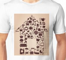 House from subjects Unisex T-Shirt