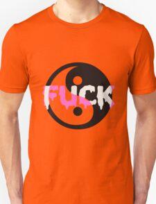 YIN-YANG FUCK Unisex T-Shirt