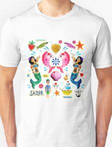 Kitsch Ocean  Unisex T-Shirt