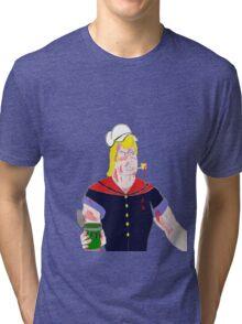 Brock the Sailor Man Tri-blend T-Shirt