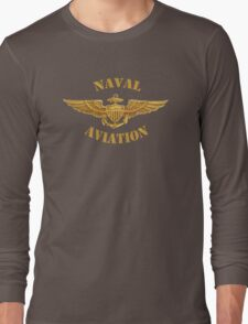 Naval Aviation (T-Shirt) Long Sleeve T-Shirt