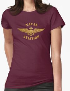 Naval Aviation (T-Shirt) Womens Fitted T-Shirt