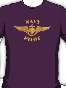Navy Pilot Wings T-shirt T-Shirt