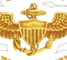 Navy Pilot Wings T-shirt Sticker
