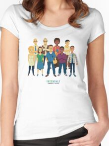 Greendale Women's Fitted Scoop T-Shirt