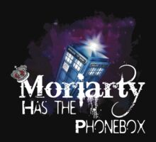 Moriarty has the Phonebox  Baby Tee