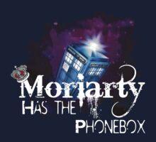 Moriarty has the Phonebox  Kids Tee