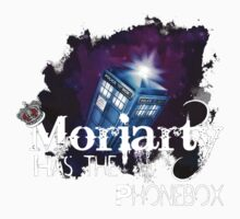 Moriarty has the Phonebox  One Piece - Short Sleeve
