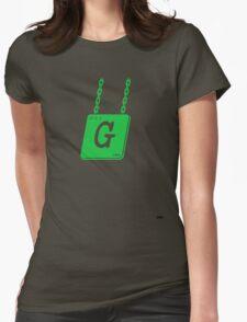 Tuam Slang T-shirts. (G) Womens Fitted T-Shirt