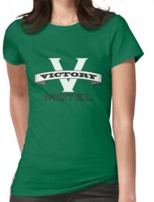 Victory Motel Womens Fitted T-Shirt