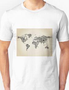 House map Unisex T-Shirt