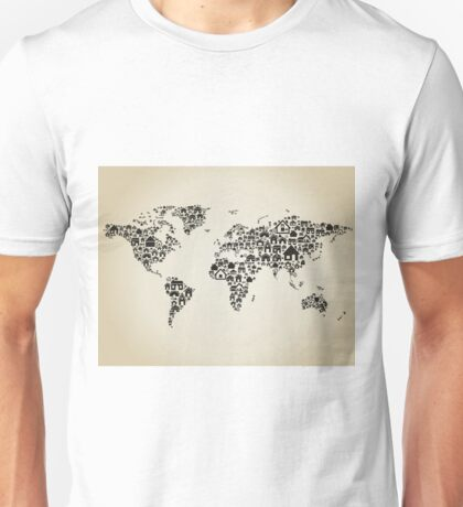 House map Unisex T-Shirt
