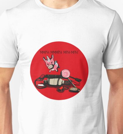 TF2 RED Pyro gear QUOTE Unisex T-Shirt