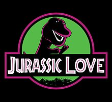 Jurassic Love by huckblade