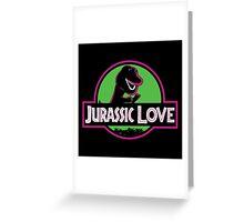 Jurassic Love Greeting Card