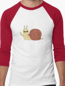 Adventure Time snail possessed Men's Baseball ¾ T-Shirt