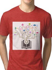 House the book Tri-blend T-Shirt