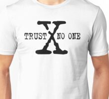 Trust No One Unisex T-Shirt