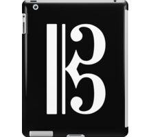 C Clef iPad Case/Skin