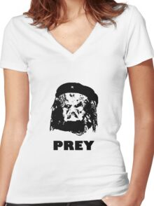 Prey Women's Fitted V-Neck T-Shirt
