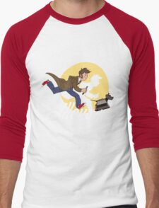 The Adventures of Doctor Who Men's Baseball ¾ T-Shirt
