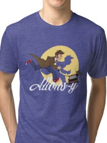 The Adventures of Doctor Who Tri-blend T-Shirt