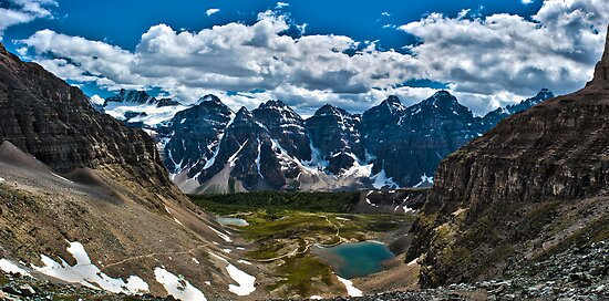 Valley of the 10 Peaks by btpphoto